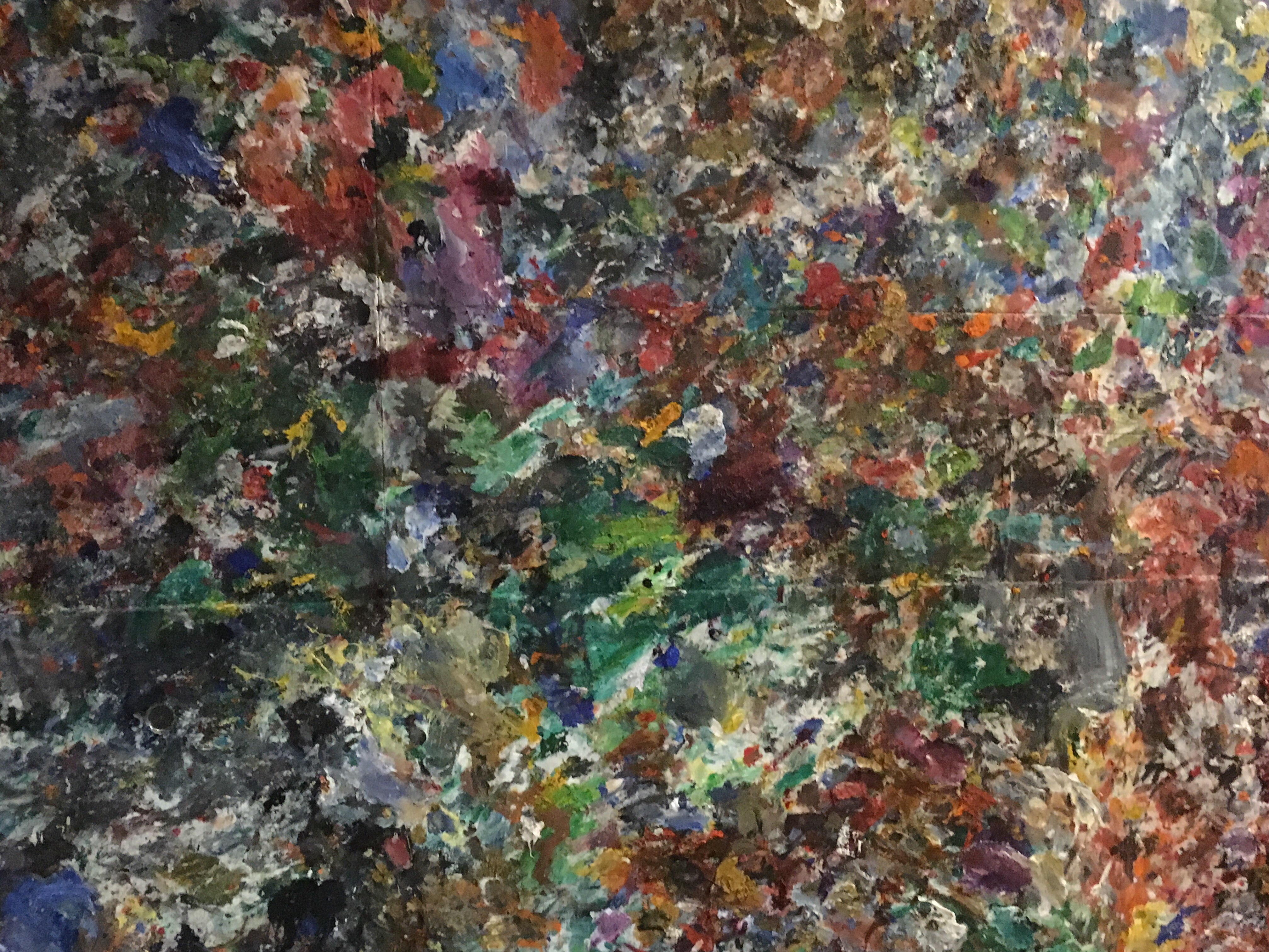 Jesse Edwards oil paintings, oil paid on Lennon, contemporary New York oil painting